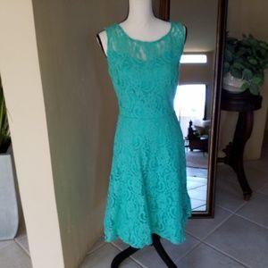Leslie Fay lace dress